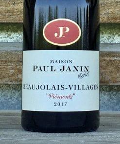 Beaujolais Village Piemonts Domaine Paul Janin & Fils