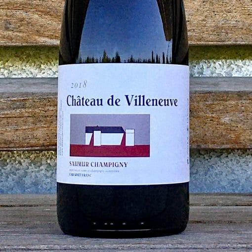 Saumur Champigny 2018 Chateau Villeneuve