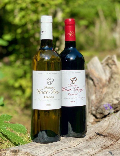 BOX de Vins Bordeaux blanc & rouge