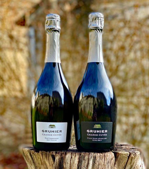 coffret vins créamant de bourgogne Gruhier